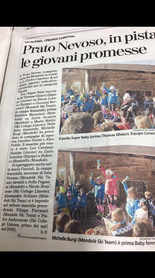 Articolo La Stampa - Prato Nevoso 6gen